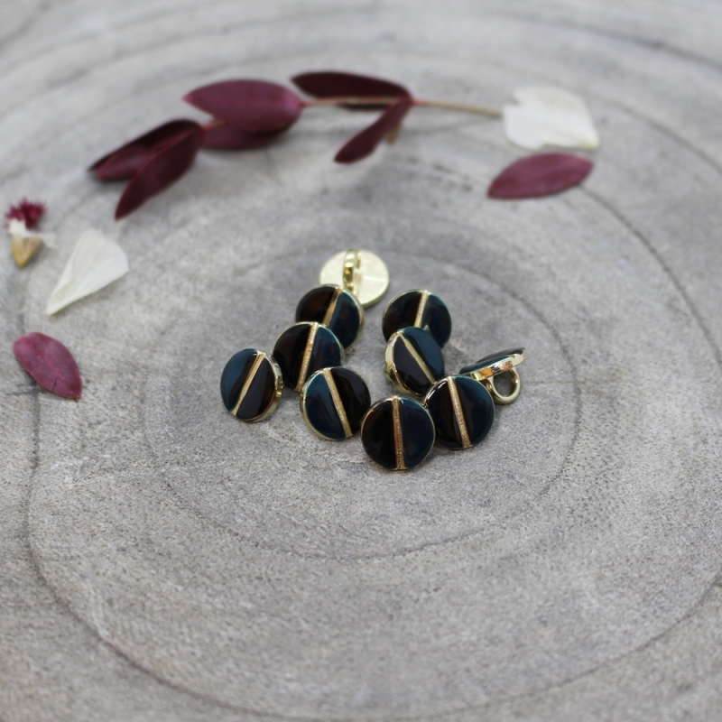 ATELIER BRUNETTE Wink Buttons Black - Forest