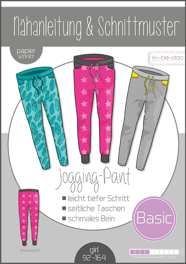 ki-ba-doo Basic Jogging Pants Kids Gr. 92-164