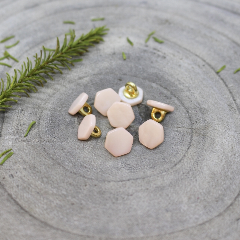 ATELIER BRUNETTE Quartz Buttons - Powder