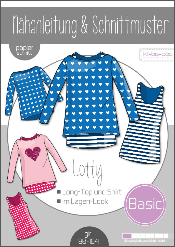 ki-ba-doo Doppel-Shirt Lotty Gr. 80-164