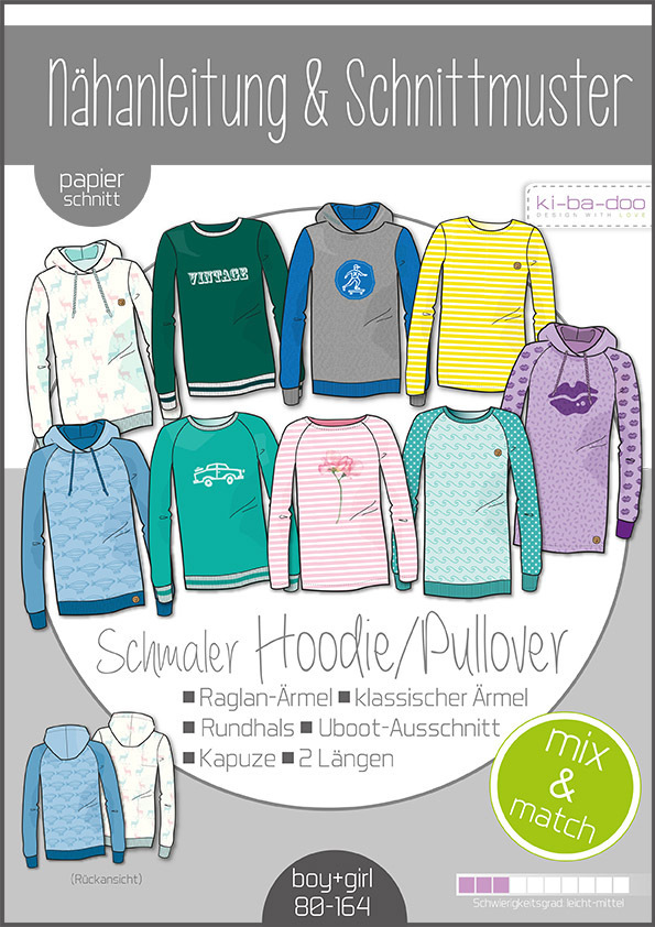 ki-ba-doo Kinder Mix & Match Sweater/Hoodie Gr.80-164